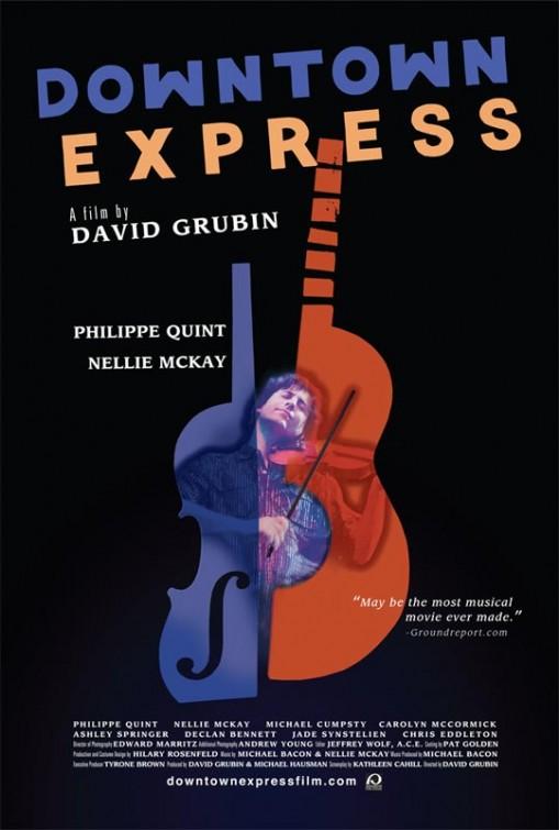 постер Подземный экспресс,Downtown Express