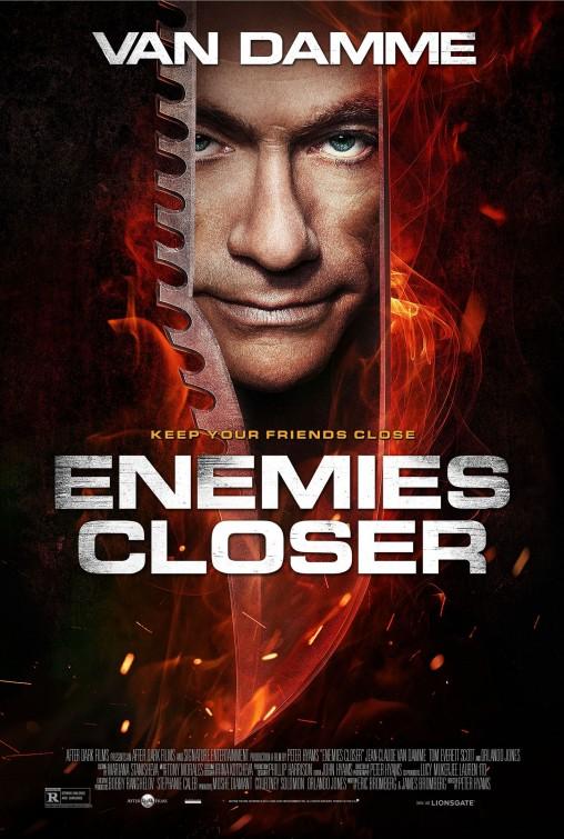 постер Близкие враги,Enemies Closer