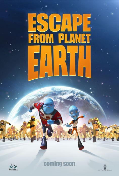 постер Побег с планеты Земля,Escape From Planet Earth
