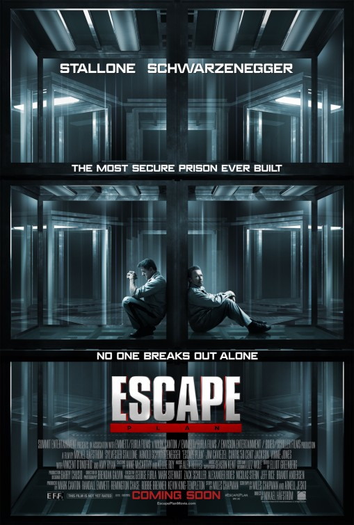 постер План побега,Escape Plan