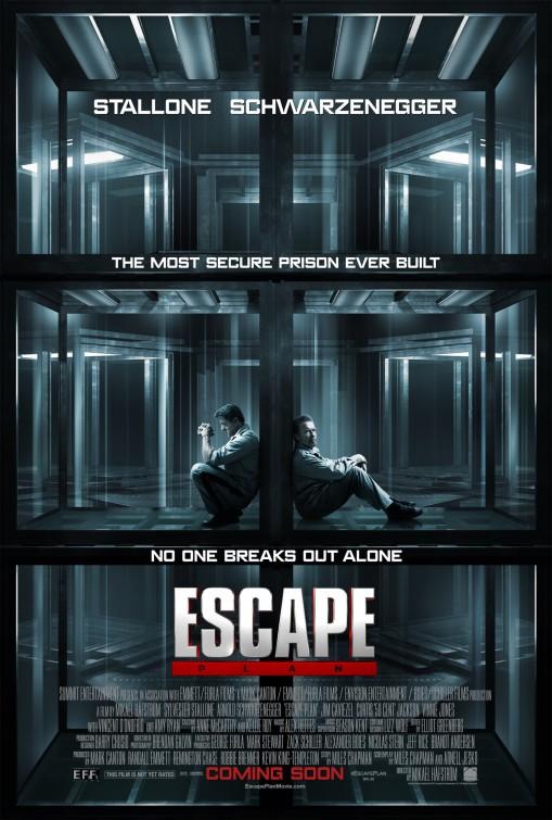 постер План побега,Escape Plan