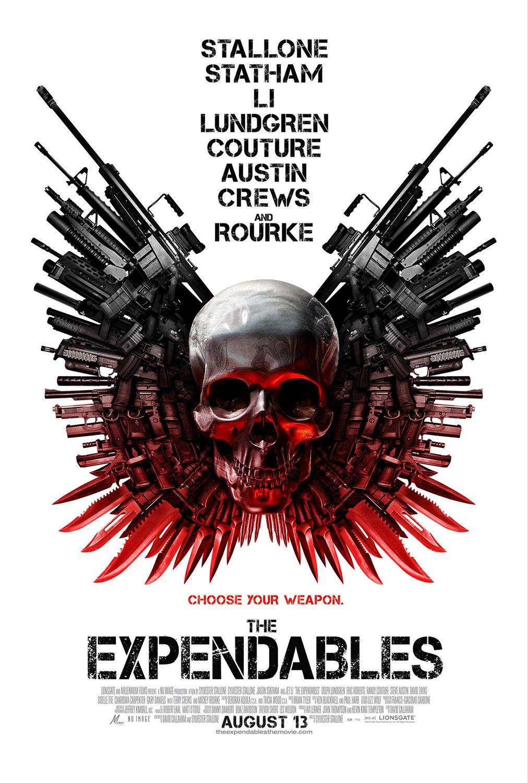 постер Неудержимые, The Expendables
