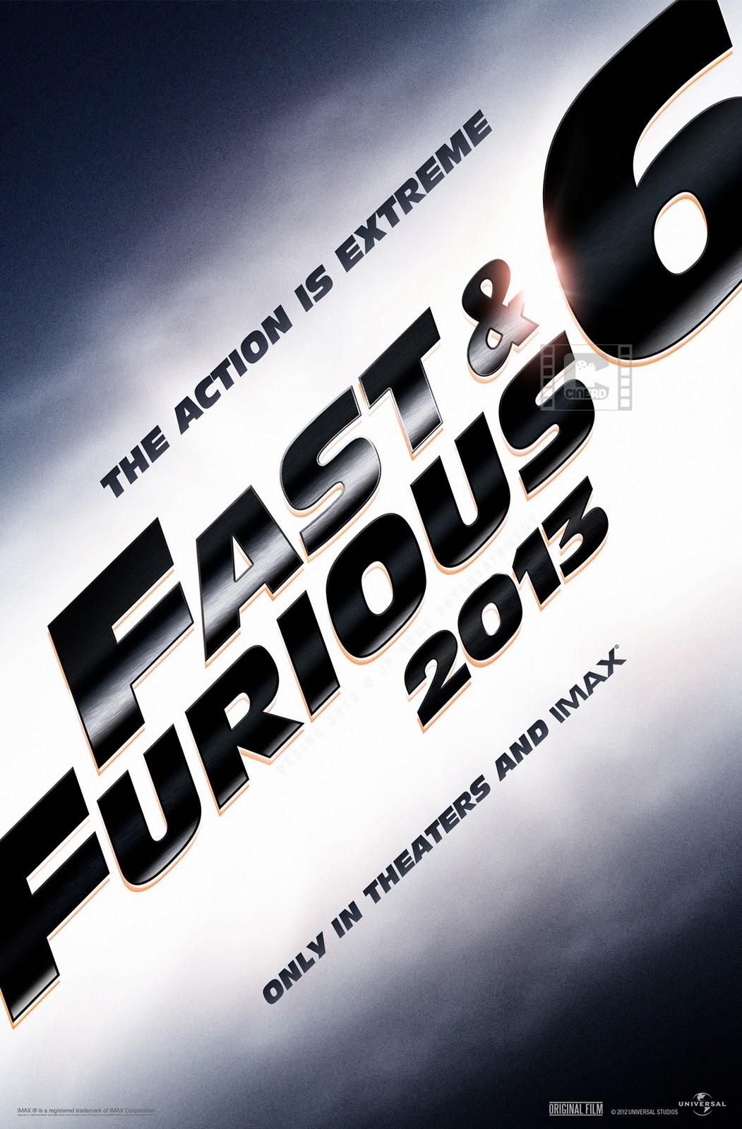 постер Форсаж 6,Fast & Furious 6