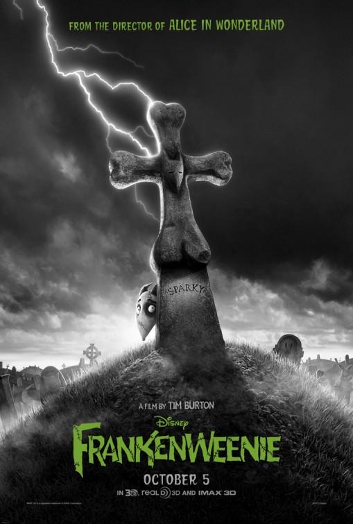 постер Франкенвини,Frankenweenie