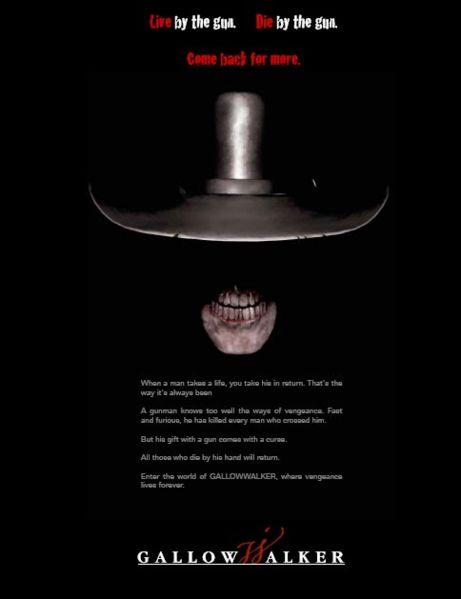 постер Висельник,Gallowwalkers