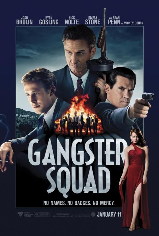 постер Охотники на гангстеров,Gangster Squad