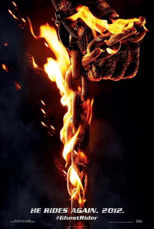 постер Призрачный гонщик 2,Ghost Rider: Spirit of Vengeance