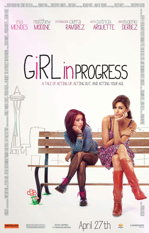 постер Смотри, о моей заботе,Girl in Progress
