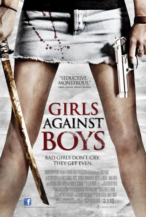 постер Девочки против мальчиков,Girls Against Boys