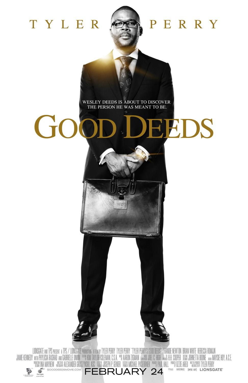 постер Хорошие поступки,Good Deeds, Tyler Perry's