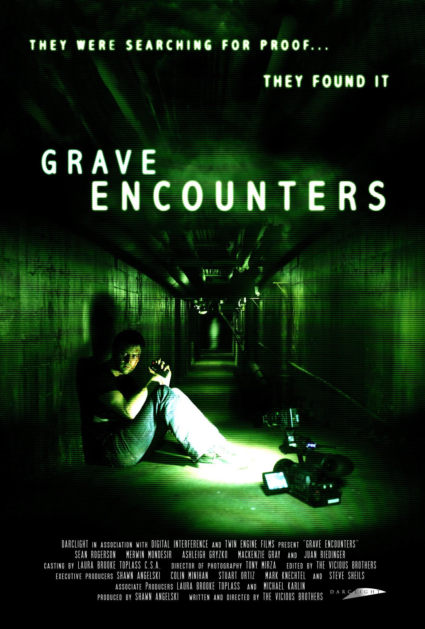 постер Искатели могил,Grave Encounters