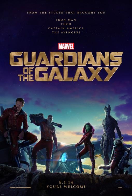 постер Стражи Галактики,Guardians of the Galaxy