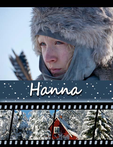 постер Ханна,Hanna
