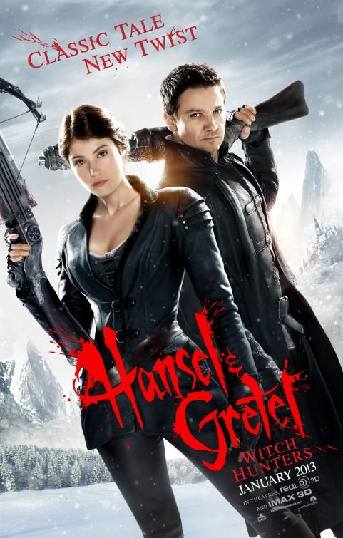 постер Охотники на ведьм 3D,Hansel & Gretel: Witch Hunters