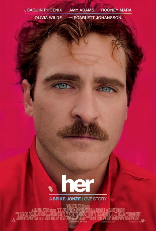 постер Она,Her