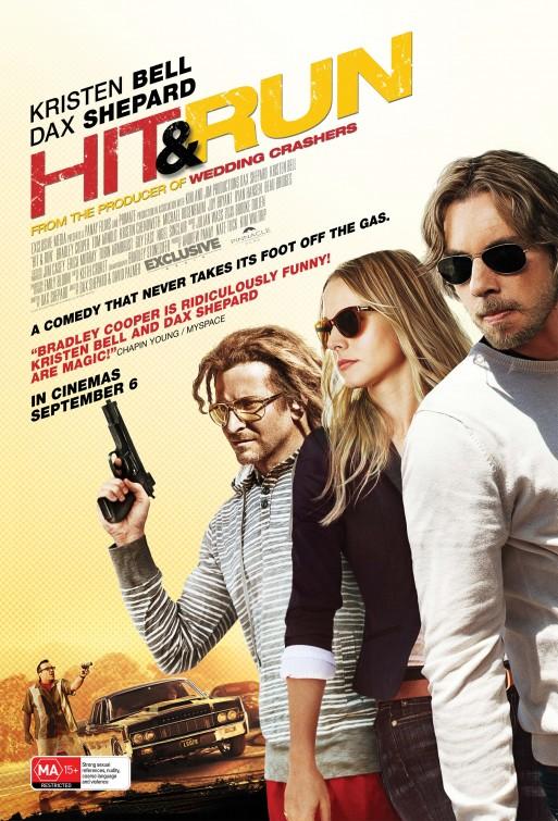постер Хватай и беги,Hit and Run