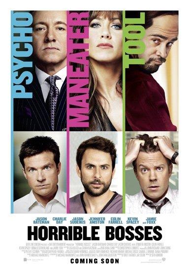постер Несносные боссы,Horrible Bosses