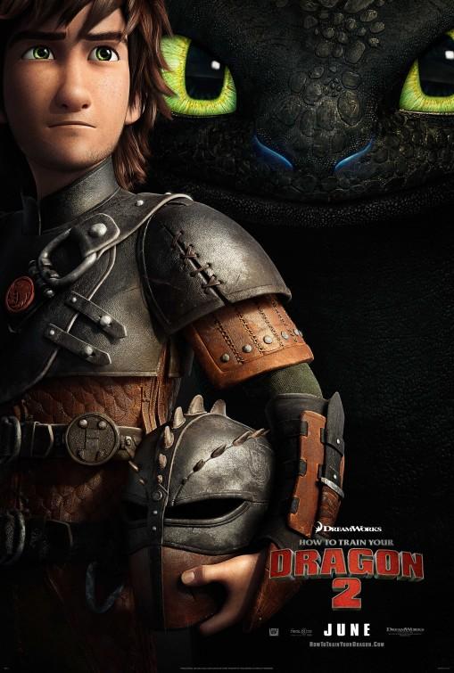 постер Как приручить дракона 2,How to Train Your Dragon 2