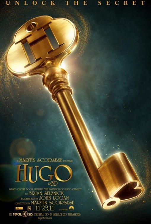 постер Хранитель времени,Hugo