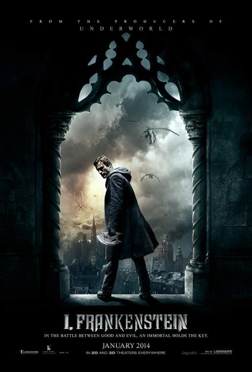 постер Я, Франкенштейн,I, Frankenstein
