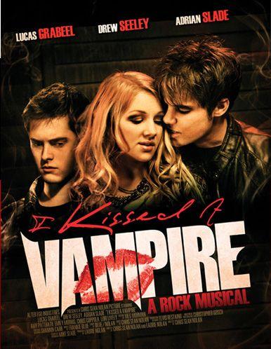 постер Я поцеловала вампира,I Kissed a Vampire