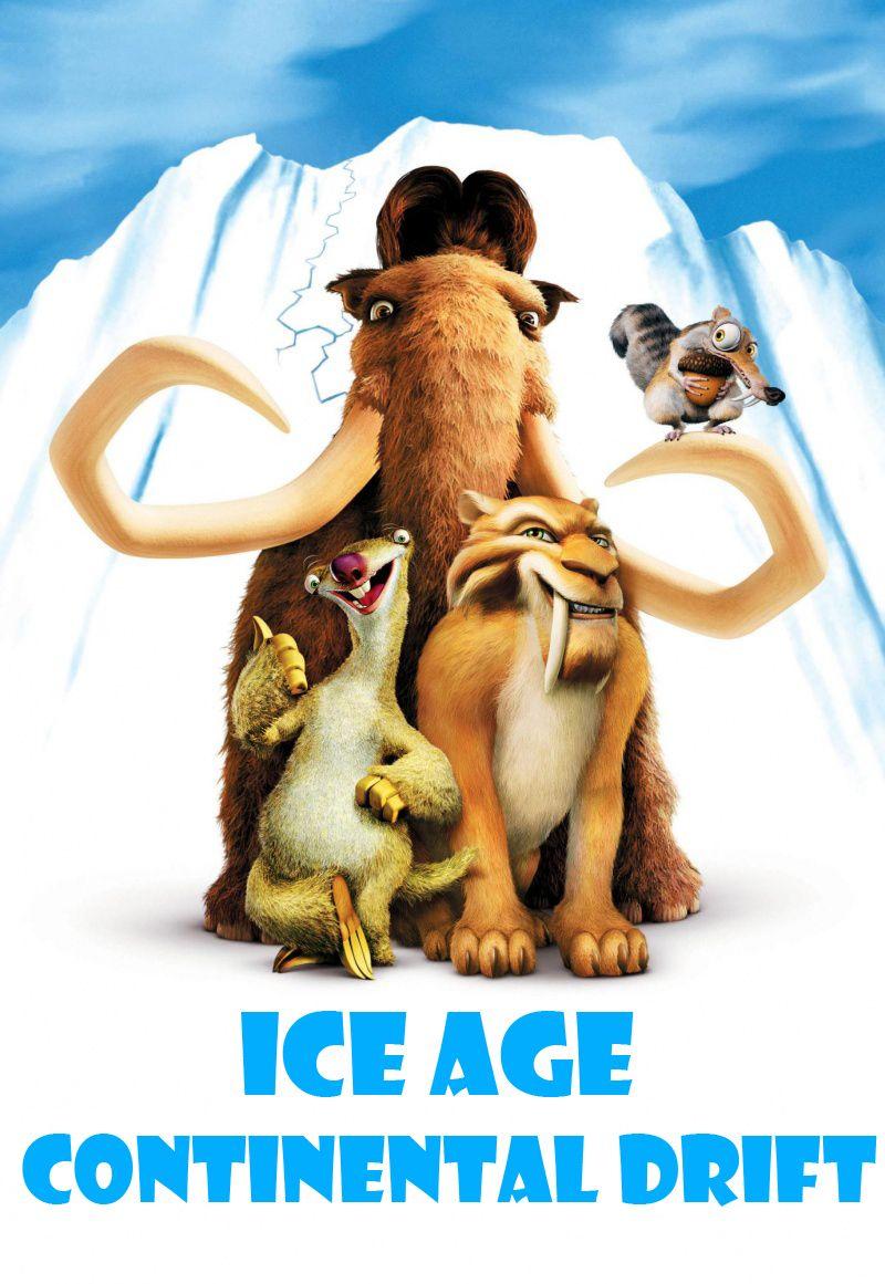 постер Ледниковый период 4: Континентальный дрейф,Ice Age Continental Drift