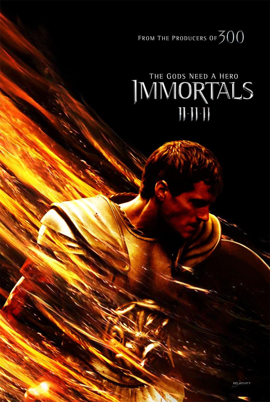 постер Война Богов: Бессмертные,Immortals