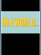 В мире... (In a World...)