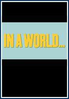 постер В мире...,In a World...