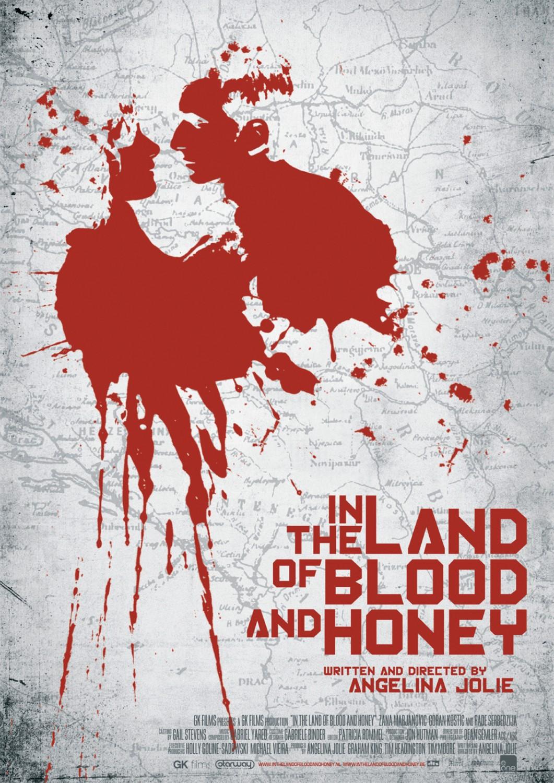 постер В краю крови и меда,In the Land of Blood & Honey