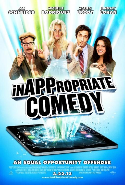 постер Непристойная комедия,InAPPropriate Comedy