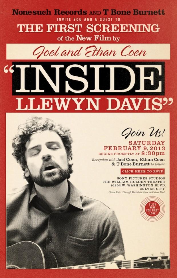постер Внутри Льюина Дэвиса,Inside Llewyn Davis
