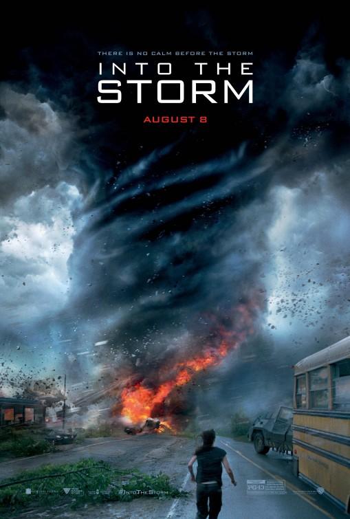 постер Навстречу шторму,Into the Storm