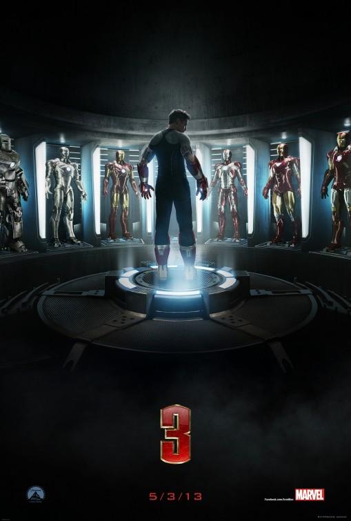 постер Железный человек 3,Iron Man 3