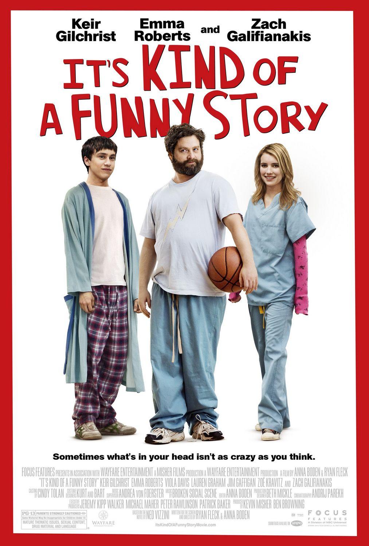 постер Это очень забавная история, It's Kind of a Funny Story