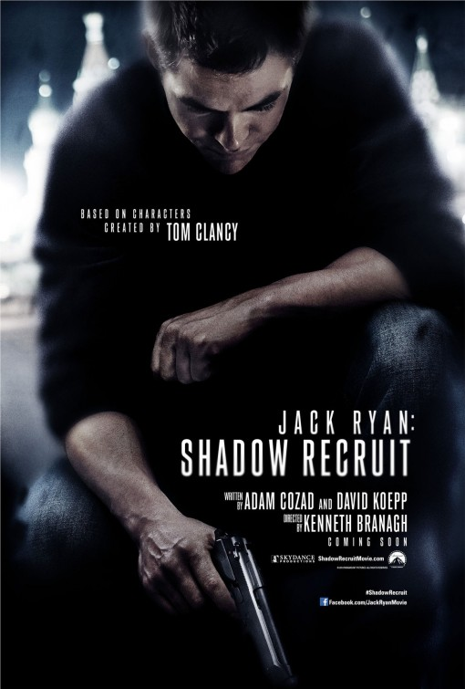 постер Джек Райан: Теория хаоса,Jack Ryan: Shadow Recruit