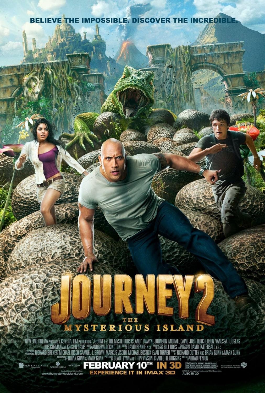 постер Путешествие 2: Таинственный остров,Journey 2: The Mysterious Island