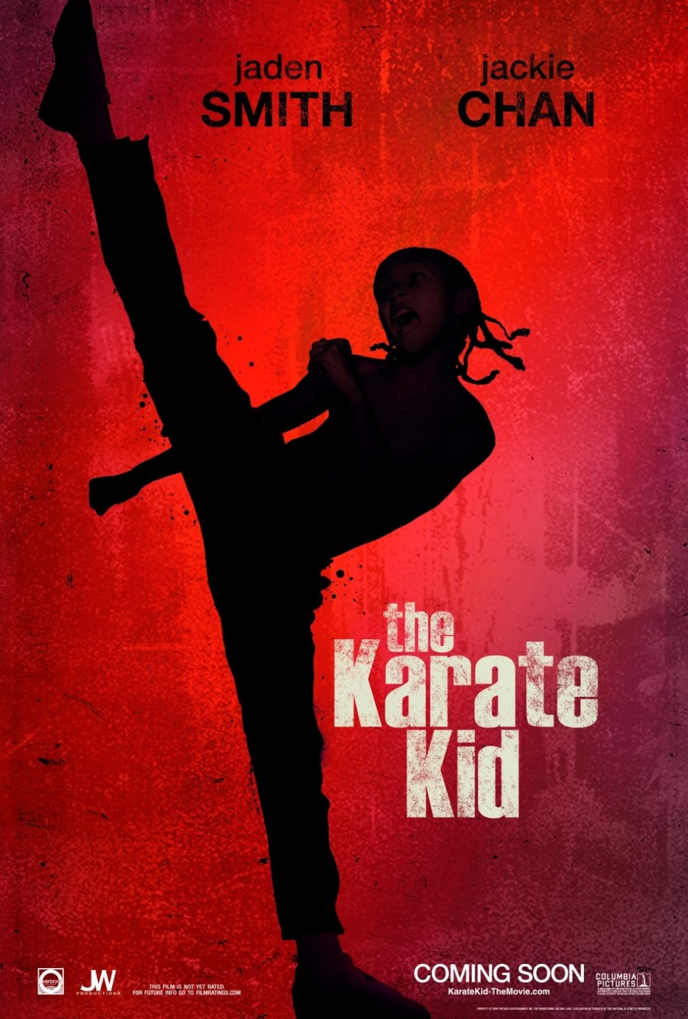постер Каратэ-пацан, The Karate Kid
