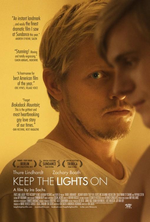 постер Не выключай свет,Keep the Lights On