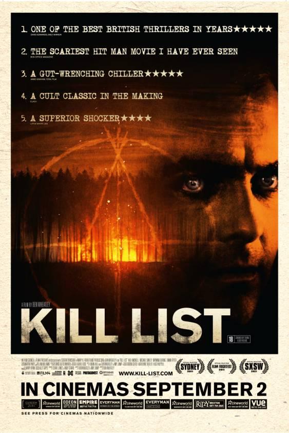 постер Список смертников,Kill List