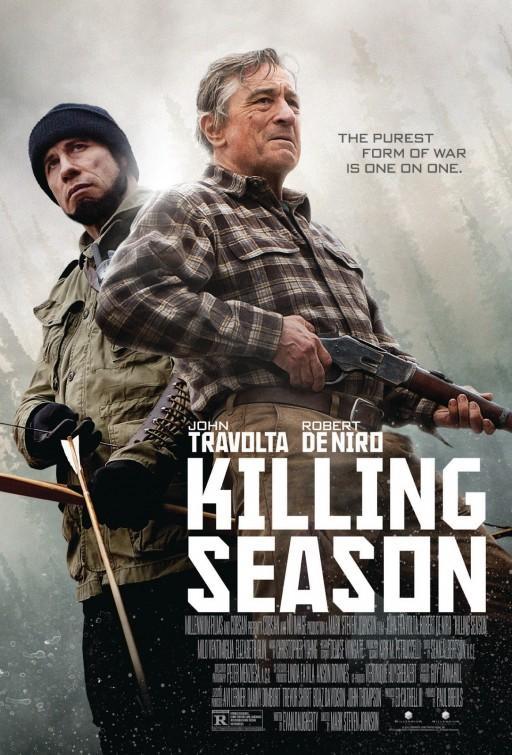 постер Сезон убийц,Killing Season