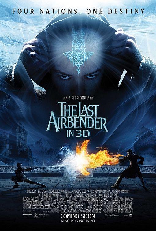 постер The Last Airbender, Последний маг воздуха