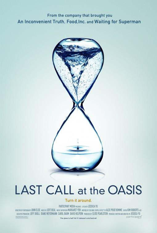 постер У последнего Оазиса,Last Call at the Oasis