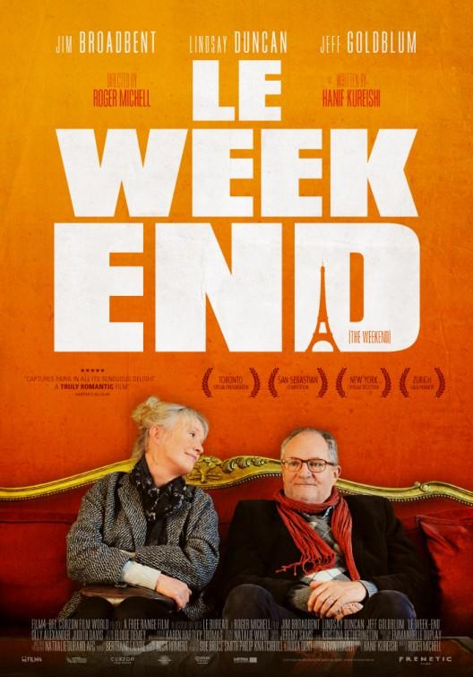 постер Уик-энд в Париже,Le Week-End