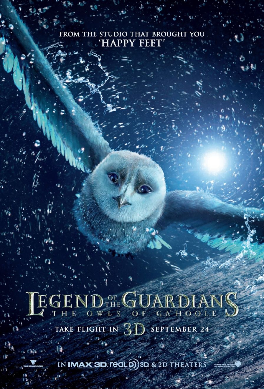 постер Ночные стражи, Legend of the Guardians: The Owls of Ga'Hoole