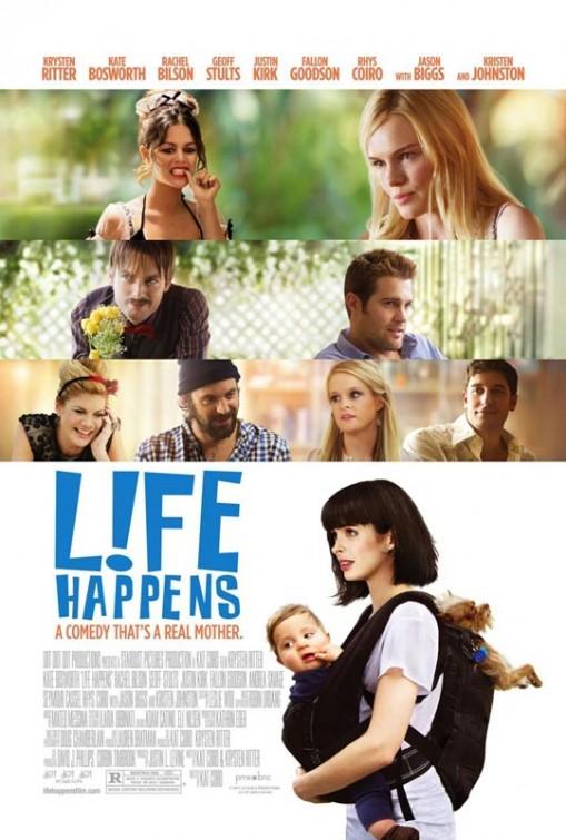 постер Лучшие друзья и ребенок,Life Happens