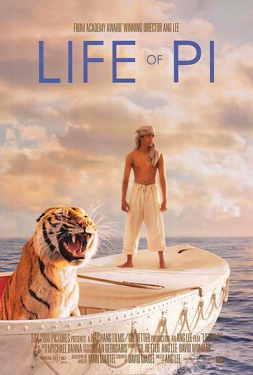 постер Жизнь Пи,Life of Pi