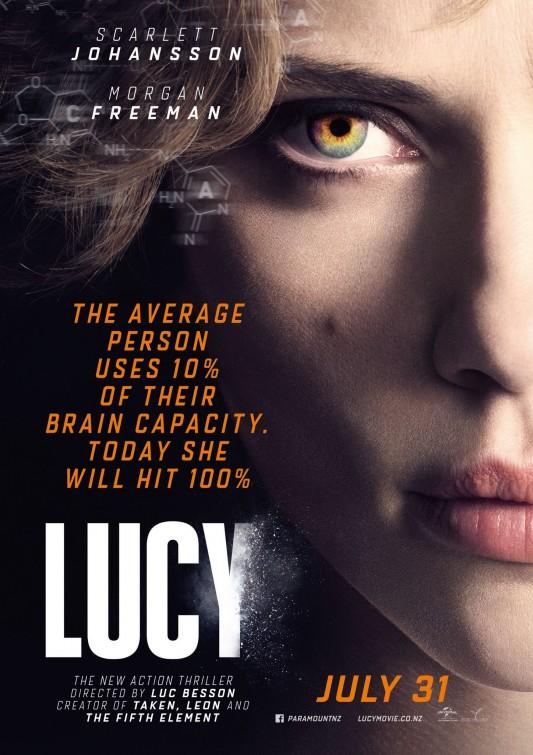постер Люси,Lucy