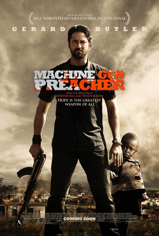 постер Проповедник с пулеметом,Machine Gun Preacher
