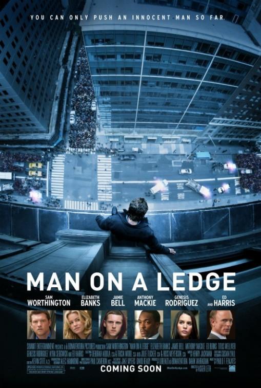 постер На грани,Man on a Ledge